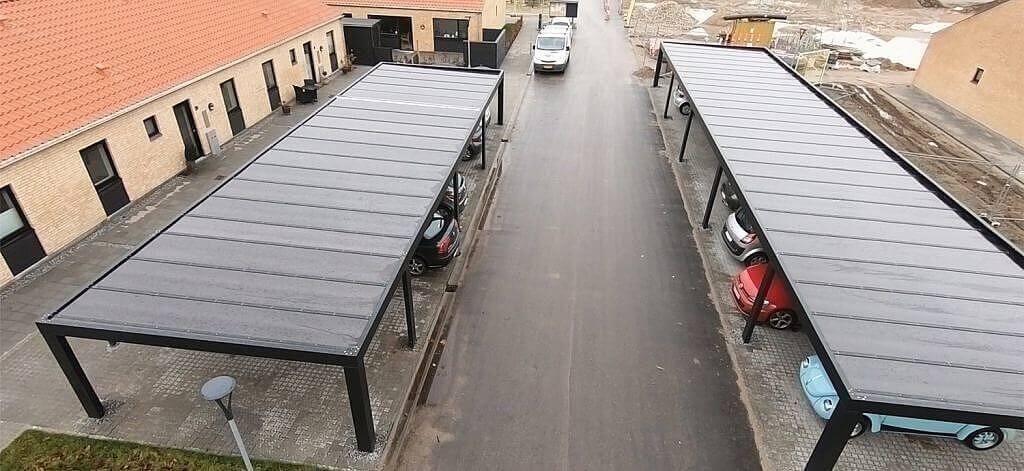 Carportprojekt: H. E. Flemmershave